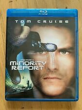 Minority Report blu-ray, Steven Spielberg, Tom Cruise