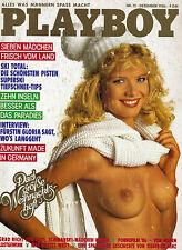 Playboy Dezember/12/1986   Sieben Mädchen vom Land*