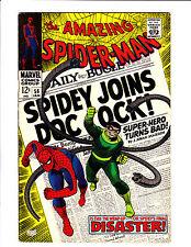 """Amazing Spider-Man  No.56    : 1968 :    : """"Spidey Joins Doc Ock!"""" :"""