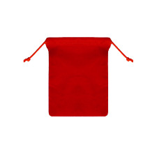 25pcs Red 4x55 Jewelry Pouches Velvet Gift Bags