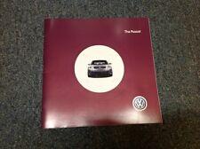 2002 VW Volkswagen Passat Catalog Brochure Book GLS GLX V6 Wagon