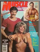Muscle Training Bodybuilding Magazine Geraldo Rivera + Nicole Bass 8-89