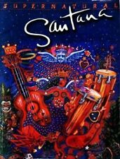 Santana - Supernatural Guitar Version Tab Tablature Book BRAND NEW