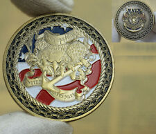 "US Navy Challenge Coin ""Don't Tread on me"" Navy Collectible sailor"