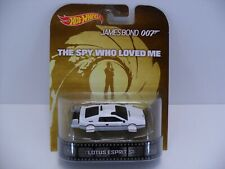 2013 Hot Wheels Retro Bond 007 The Spy Who Loved Me Lotus Espirit S1 Submarine