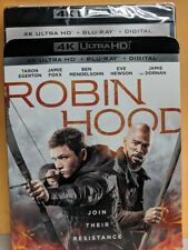 New Robin Hood 2018 4k Ultra Hd & Blu-ray blue ray disc No Digital action movie