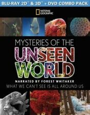 National Geographic Mysteries of The Unseen World ( BR Dvd) 3d Blu-ray