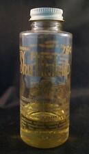 Vintage Shu Mak Up Shoe Restore Clear Bottle