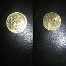 San Marino moneta 20 lire del 1975