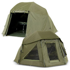 Lucx ® Shelter + Overwrap Canopy Tent + Winter Skin Fishing Brolly + Throw