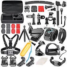 50-In-1 Sport Accessory Kit for GoPro Hero4 Session Hero1 2 3 3+ 4 SJ4000 WS