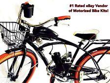 **Knight Rider**  Motorized 66cc Engine & Retro Cruiser Bicycle - Motor Bike Kit