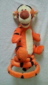 Disney Turbo Tail Tigger Bouncing Talking Singing Plush Toy Turbo Tail