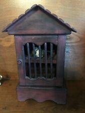 """Mahogany Indoor Decorative Birdhouse 12 1/4"""" tall"""