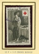 STAMP / TIMBRE DE  FRANCE OBLITERE CROIX ROUGE  N° 1089 JEUNE PAYSAN