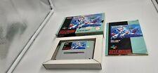 Jeu Super Nintendo SNES Megaman Mega Man X complet
