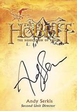 "The Hobbit Desolation of Smaug - CA-4 Andy Serkis ""Director"" Autograph Card"