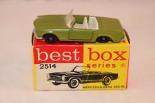Bestbox Best Box 2514 Mercedes Benz 230 green mint in box very scarce colour