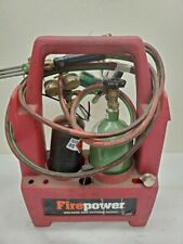 New ListingFirepower Oxy-Acetylene Welding and Cutting Kit with Tanks 6/B15876A
