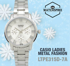 Casio Ladies' Standard Analog Watch LTPE315D-7A LTP-E315D-7A
