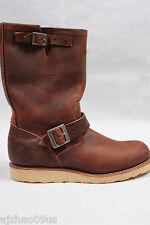 "New RED WING 11"" Engineer Copper Rough&Tough Mens Motorcycle Boots 2971 100%AU 9"
