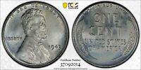 1943 1C Lincoln Cent PCGS MS65 #37092014, w/ TrueView (26O)