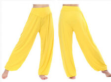Womens Yoga Pants Loose Indian Ali Baba Harem Ladies Baggy Gypsy Hippie Trousers