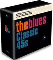 "Various Artists : The Blues: Classic 45s Vinyl 7"" Single Box Set 10 discs"