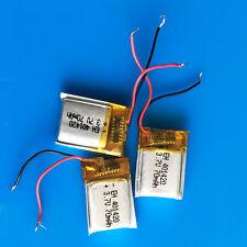 3 PEZZI 70mah batteria LiPo in polimero 3.7v per video Penna Cuffie Bluetooth mp3 401420