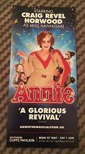 Annie - The Musical Flyer (Craig Revel Horwood) at Southend Cliffs Pavilion 2019