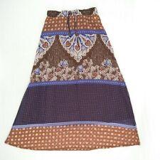 ROXY - Fully Lined Elastic Waist Maxi Skirt Women's Size 8 - #URLSK964
