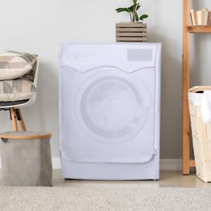 Washing Machine Waterproof Cover Laundry Dryer Polyester Anti Dust Case (B)
