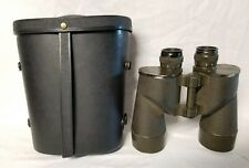 Military binoculars M16 7x50 stock no. 7578343 Green Metal Army Vintage