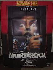 Murder Rock French Poster - 1984 - Olga Zombi 2 Karlatos Lucio Giallo Fulci Rare