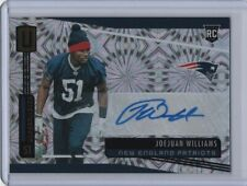 Joejuan Williams 2019 Panini Unparalleled Rookie Autograph Fireworks 2/5