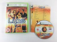 Lips Microsoft Xbox 360 Game | Complete with Manual | Very Good Condition PAL
