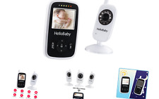 Hello Baby Wireless Video Baby Monitor with Digital Camera HB24, Night Vision...