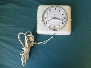 Vintage Westclox Electric Kitchen Wall Clock Works