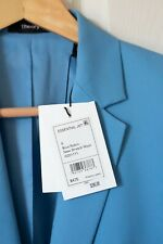 Theory Blue Robin Suit Set, Size 0 (Jacket and Pants)