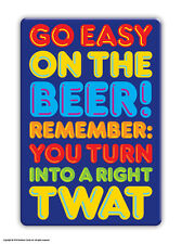 Brainbox Candy Beer Twat fridge magnet funny rude cheap gift birthday present