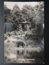 Royalty THE NEST, SANDRINGHAM Overgrown Queen Alexandra's Nest - Old RP Postcard