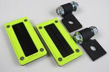Polaris RZR Xp 1000 / RZR 900 Billet Harness Bezel & Mounting Kit (Lime Squeeze)