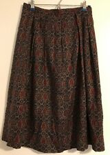 Davis Brooks Pleated Skirt w Pocket Size 30