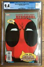Marvel Spotlight: Deadpool 1 #NN Pete Woods Variant CGC 9.4 1260760015
