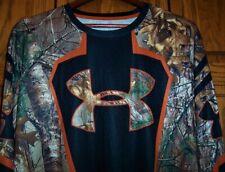 UNDER ARMOUR Men's BASE LAYER Camo Hunting Top Shirt EC LN Loose Fit 3XL XXXL