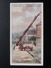 No.33 MOTOR TURN TABLE FIRE ENGINE Fire Fighting Appliances - John Player 1930