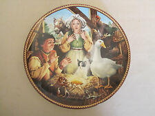 Goose That Laid The Golden Egg collector plate Aesop'S Fables Knowles Hampshire