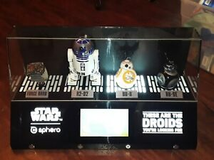 Sphero Star Wars BB-8/R2D2/BB9E App-Enabled DROIDS with Force band and Displays!