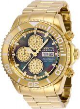 New Mens Invicta Reserve 28885 Swiss Automatic .42ctw Diamond Chronograph Watch