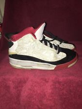Nike Air Jordan Dub Zero (Gs) 2005 White Varsity Red Grey 311047 103 Sz 4y